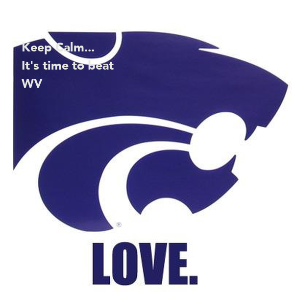Keep Calm... It's time to beat WV