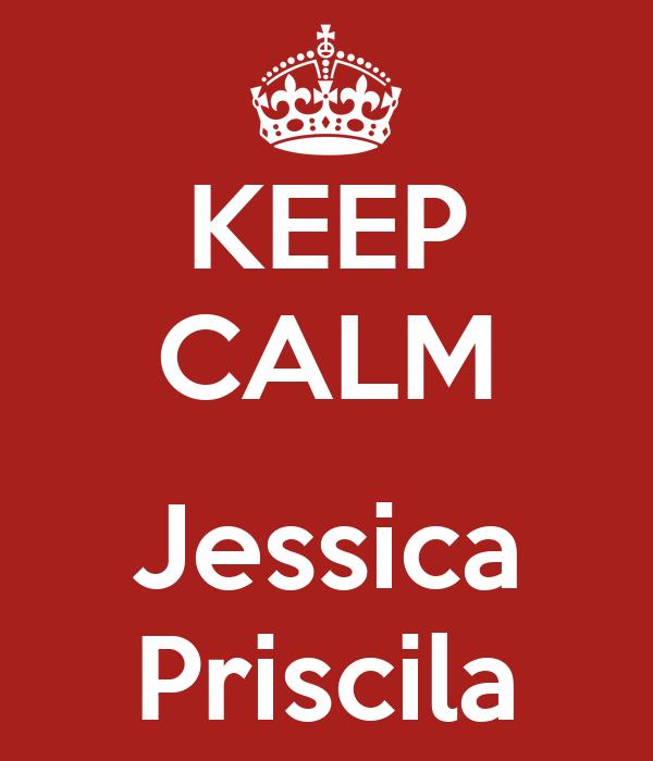 KEEP CALM  Jessica Priscila