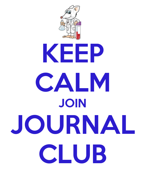KEEP CALM JOIN JOURNAL CLUB