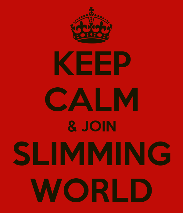 KEEP CALM & JOIN SLIMMING WORLD