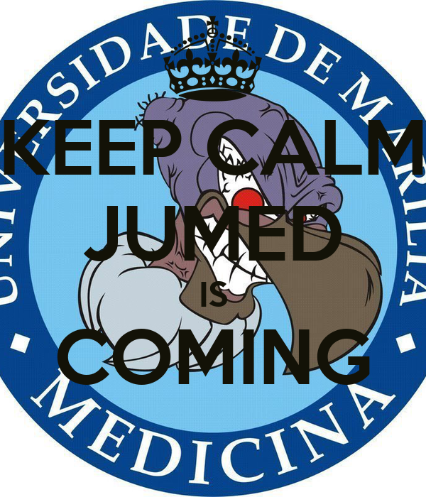 KEEP CALM JUMED IS COMING