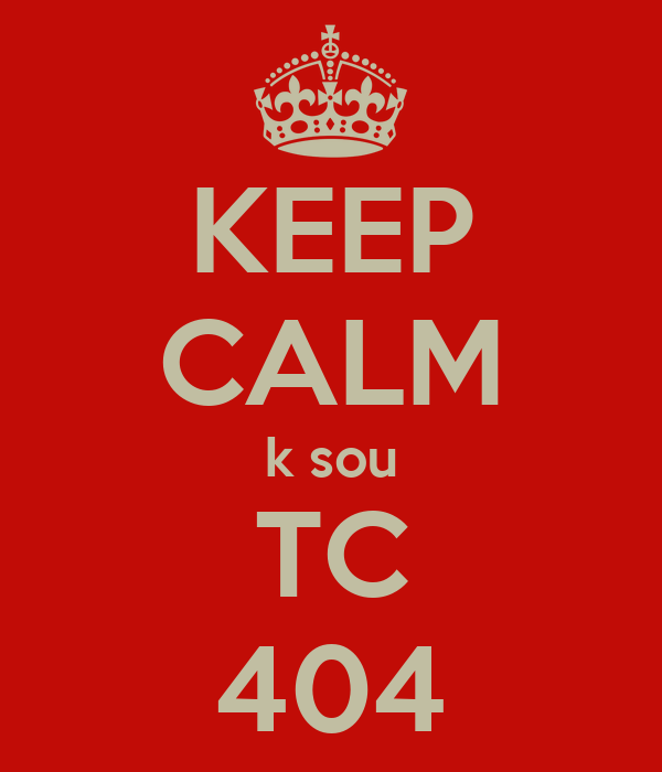 KEEP CALM k sou TC 404