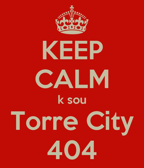 KEEP CALM k sou Torre City 404