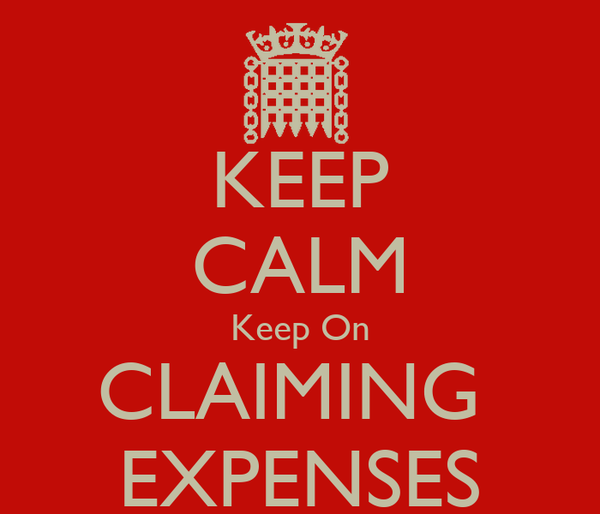 KEEP CALM Keep On CLAIMING  EXPENSES