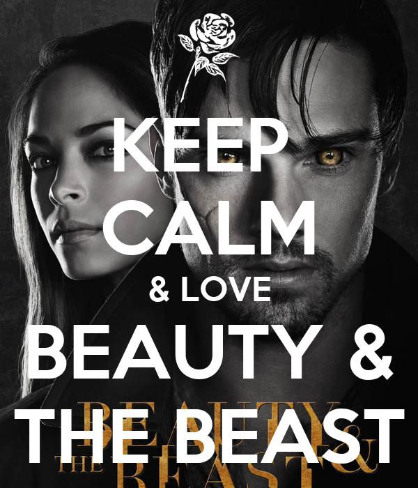 KEEP  CALM & LOVE BEAUTY & THE BEAST