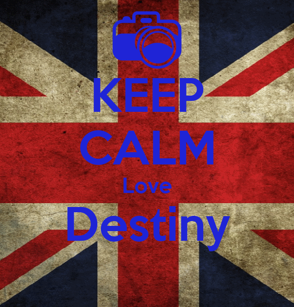 KEEP CALM Love Destiny
