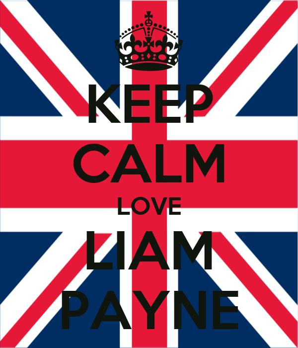 KEEP CALM LOVE LIAM PAYNE