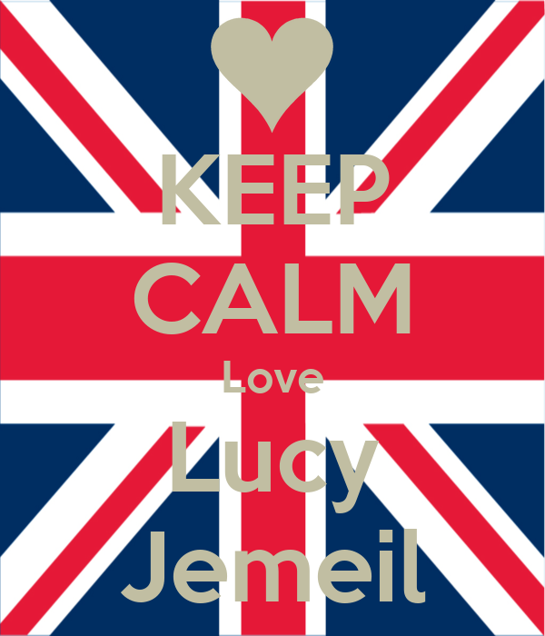 KEEP CALM Love Lucy Jemeil