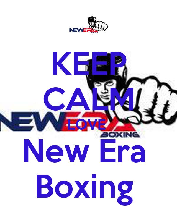 KEEP CALM LOVE  New Era  Boxing