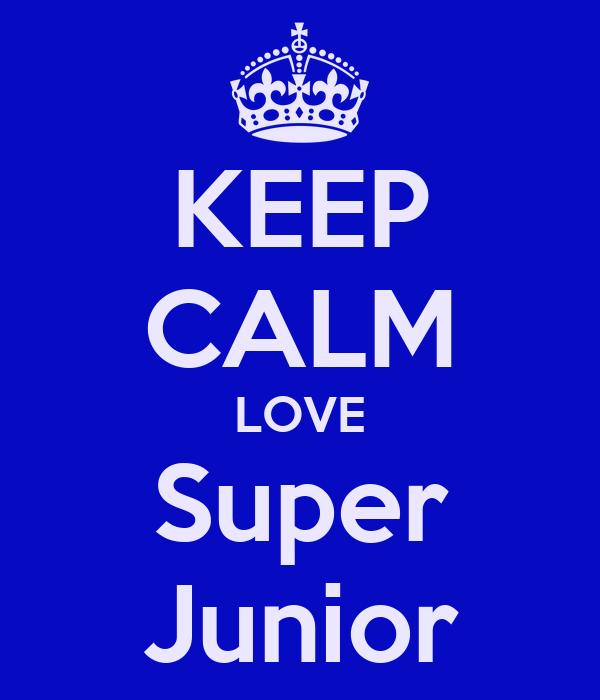 KEEP CALM LOVE Super Junior