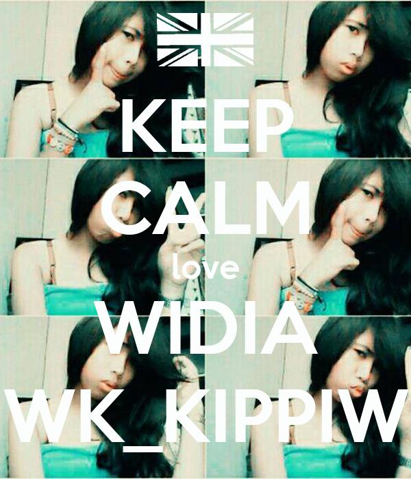 KEEP CALM love WIDIA WK_KIPPIW
