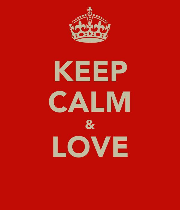 KEEP CALM & LOVE آلاء السبيعي