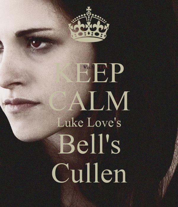 KEEP CALM Luke Love's Bell's Cullen