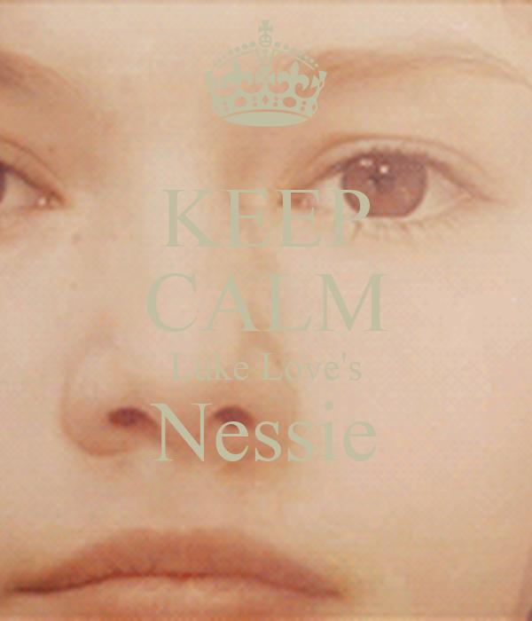 KEEP CALM Luke Love's Nessie