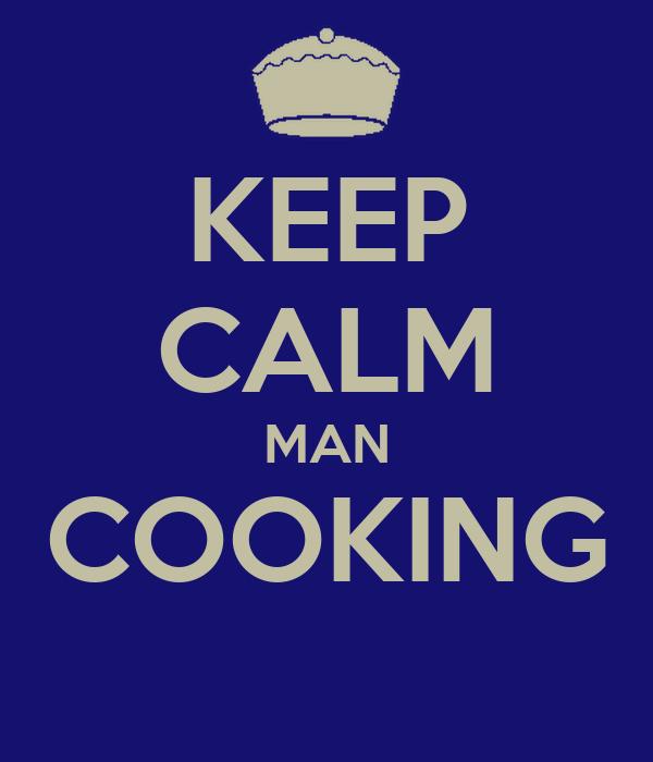 KEEP CALM MAN COOKING