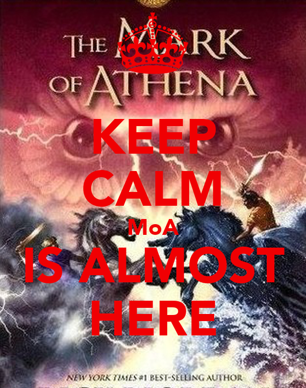 KEEP CALM MoA IS ALMOST HERE