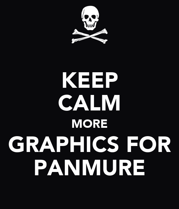 KEEP CALM MORE GRAPHICS FOR PANMURE