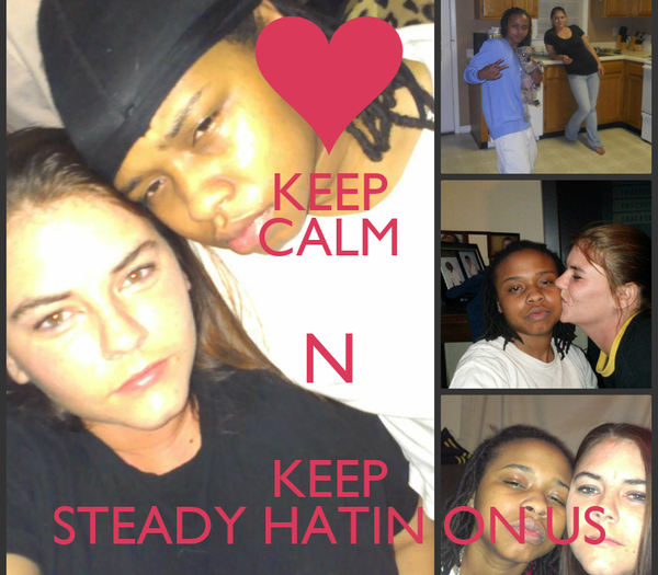 KEEP CALM N KEEP STEADY HATIN ON US