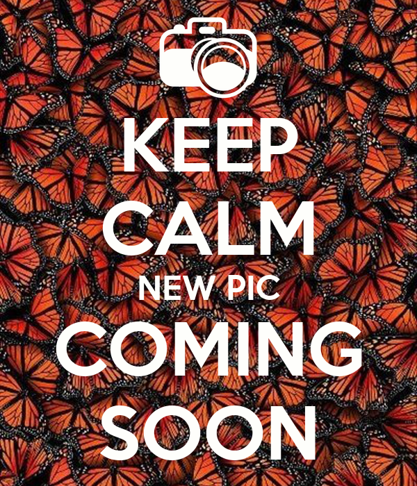 KEEP CALM NEW PIC COMING SOON