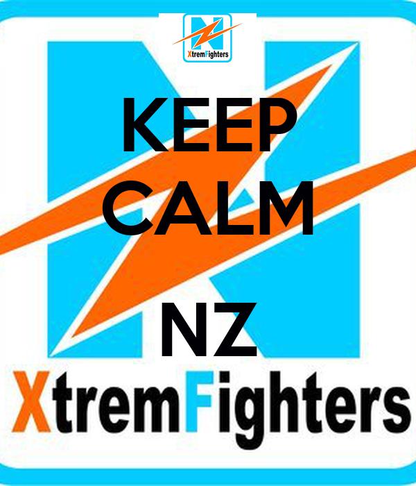 KEEP CALM  NZ
