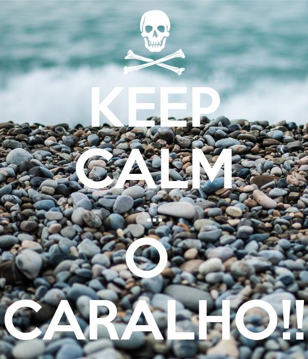 KEEP CALM ... O  CARALHO!!