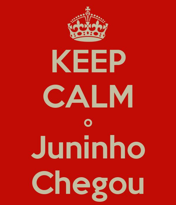 KEEP CALM o Juninho Chegou