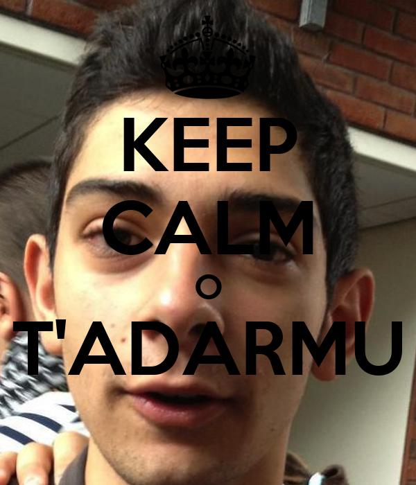 KEEP CALM O T'ADARMU