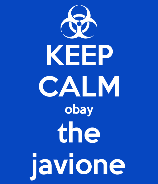KEEP CALM obay the javione