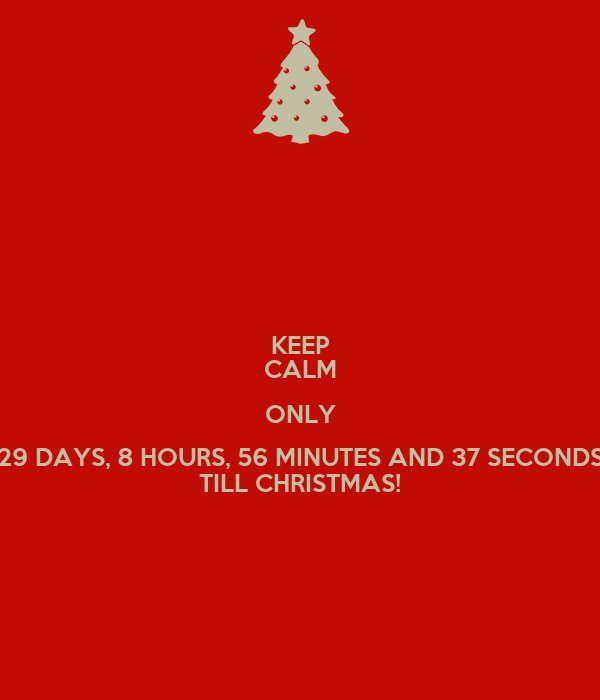 How Many Hours Until Christmas.Countdown To Christmas 2018 1 Hour 45 Min 55 Seconds Till