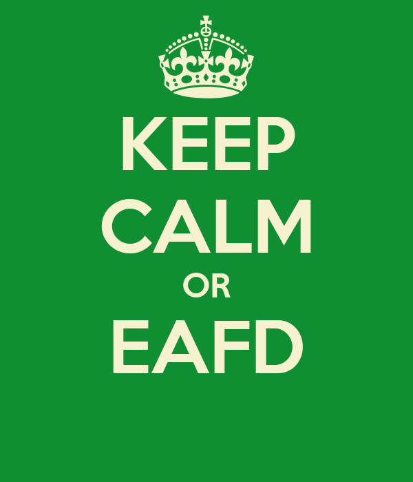 KEEP CALM OR EAFD