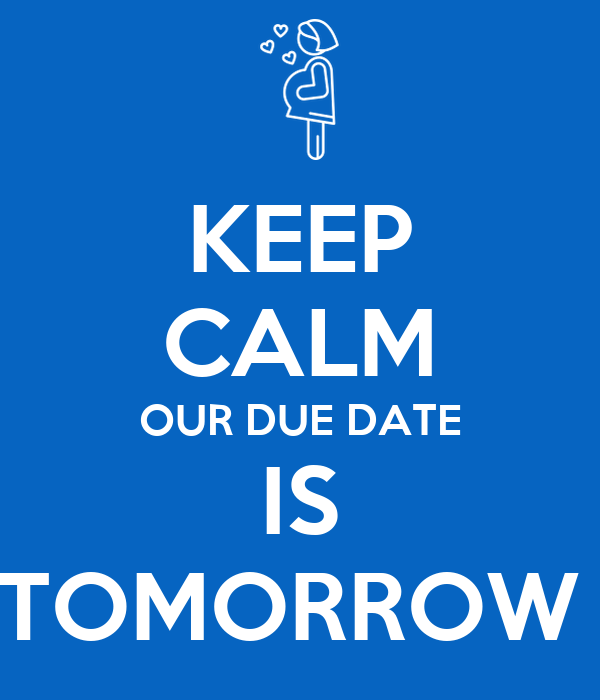What is the date tomorrow