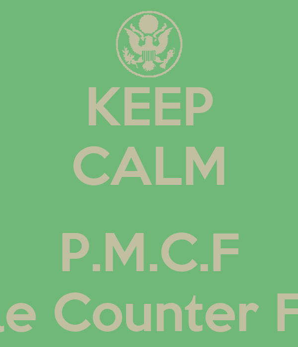 KEEP CALM  P.M.C.F Pro Male Counter Feminist