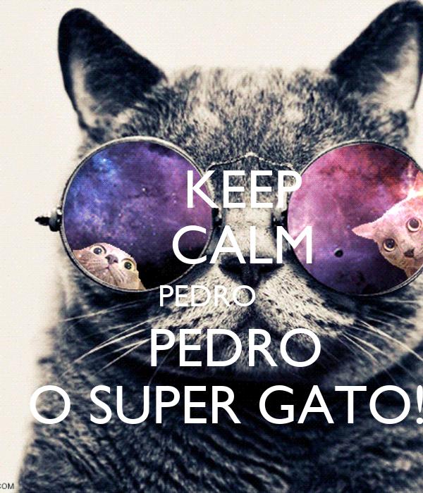 KEEP     CALM   PEDRO       PEDRO   O SUPER GATO!