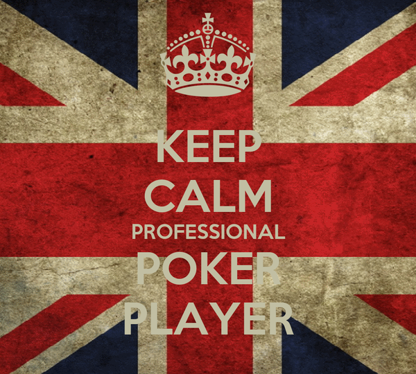 KEEP CALM PROFESSIONAL POKER PLAYER