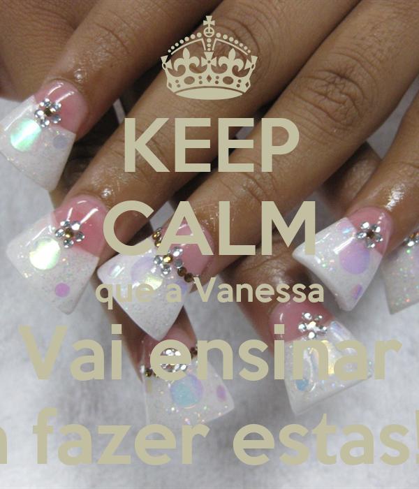 KEEP CALM que a Vanessa Vai ensinar a fazer estas!!