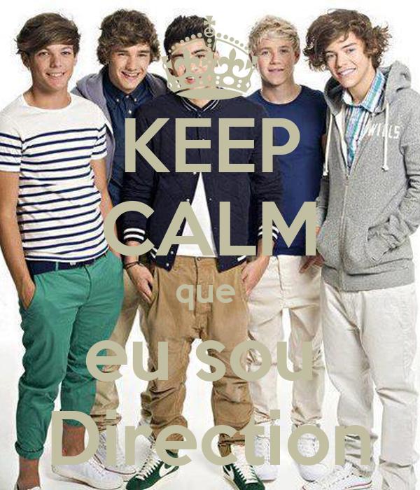 KEEP CALM que  eu sou  Direction