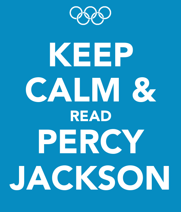 KEEP CALM & READ PERCY JACKSON