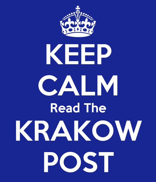 KEEP CALM Read The KRAKOW POST