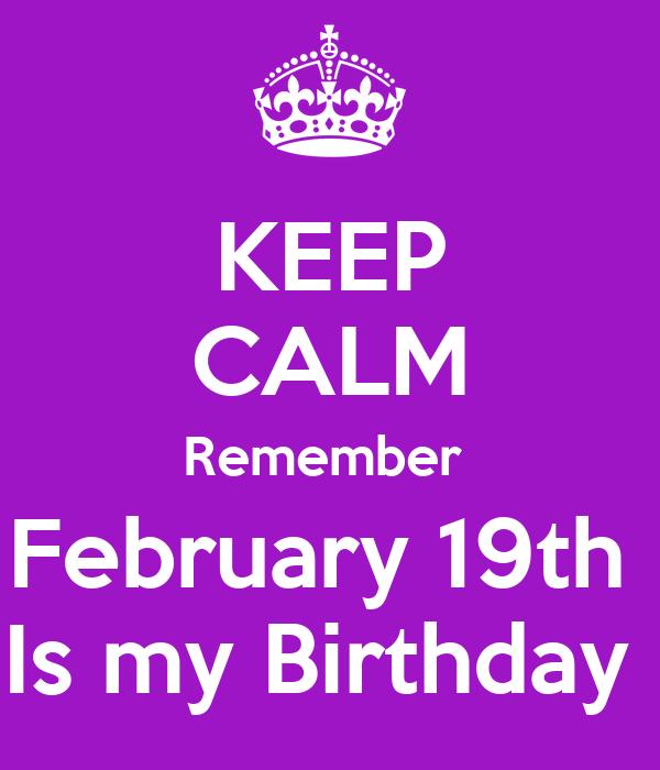 Famous People's Birthdays, February 19, United States ...
