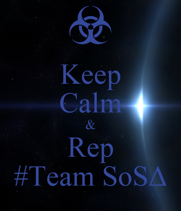 Keep Calm & Rep #Team SoSΔ