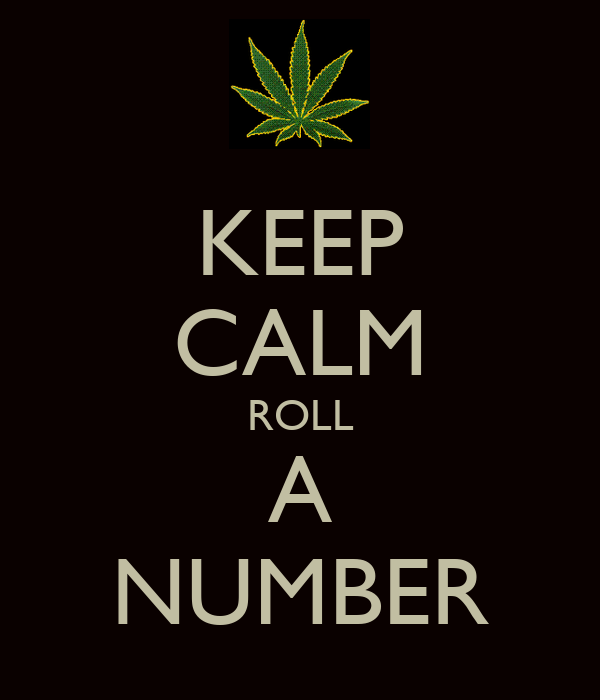 KEEP CALM ROLL A NUMBER