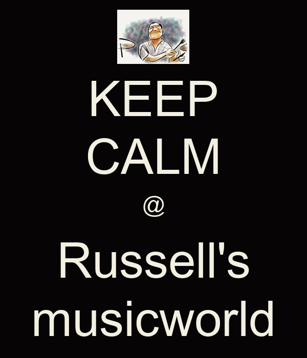 KEEP CALM @ Russell's musicworld