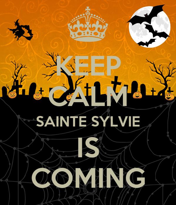 KEEP CALM SAINTE SYLVIE IS COMING