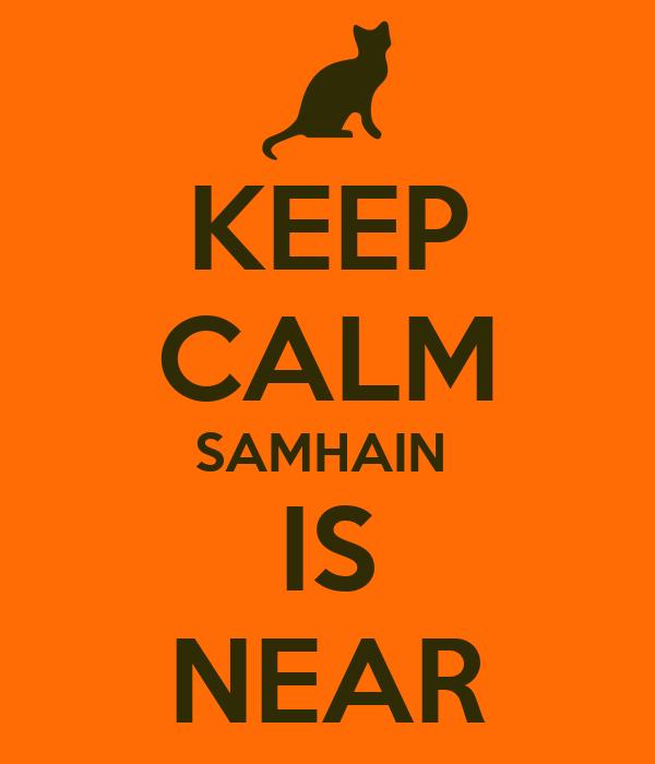 KEEP CALM SAMHAIN  IS NEAR