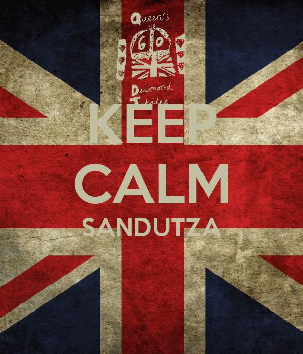 KEEP CALM SANDUTZA