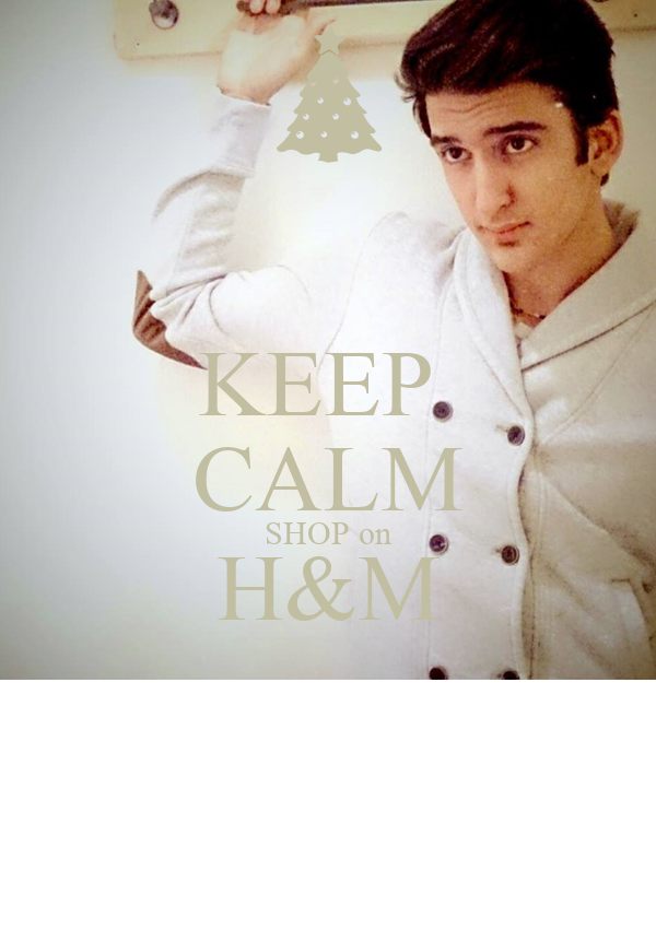 KEEP  CALM SHOP on H&M
