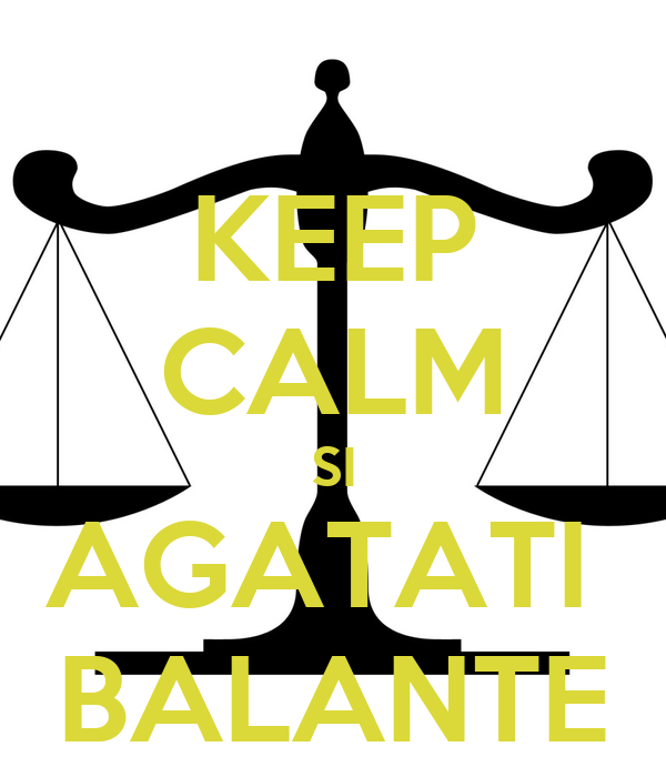 KEEP CALM SI AGATATI  BALANTE