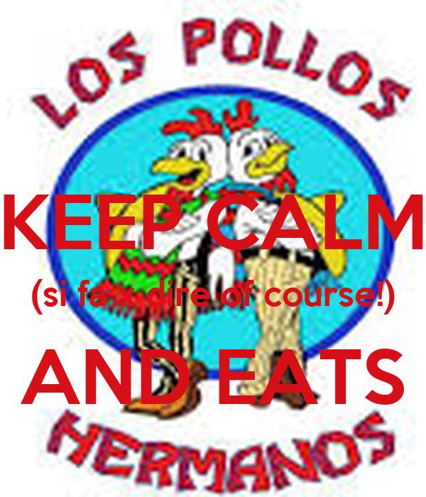 KEEP CALM (si fa x dire of course!) AND EATS