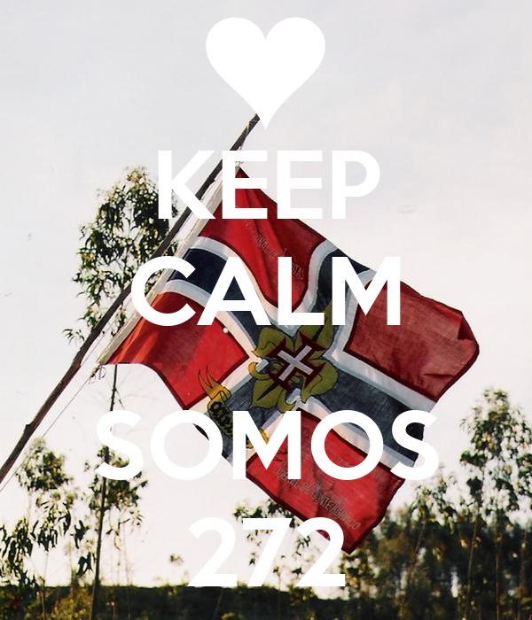 KEEP CALM  SOMOS 272