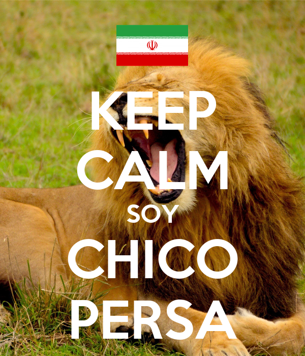 KEEP CALM SOY CHICO PERSA